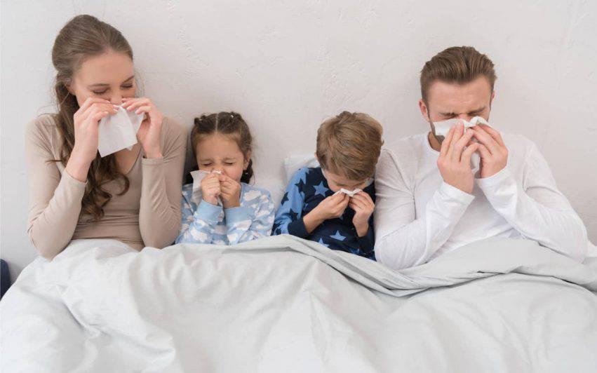 influenza stagionale contagi calo