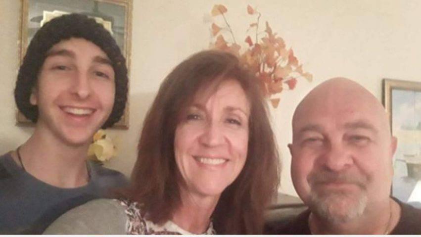 famiglia malata di cancro