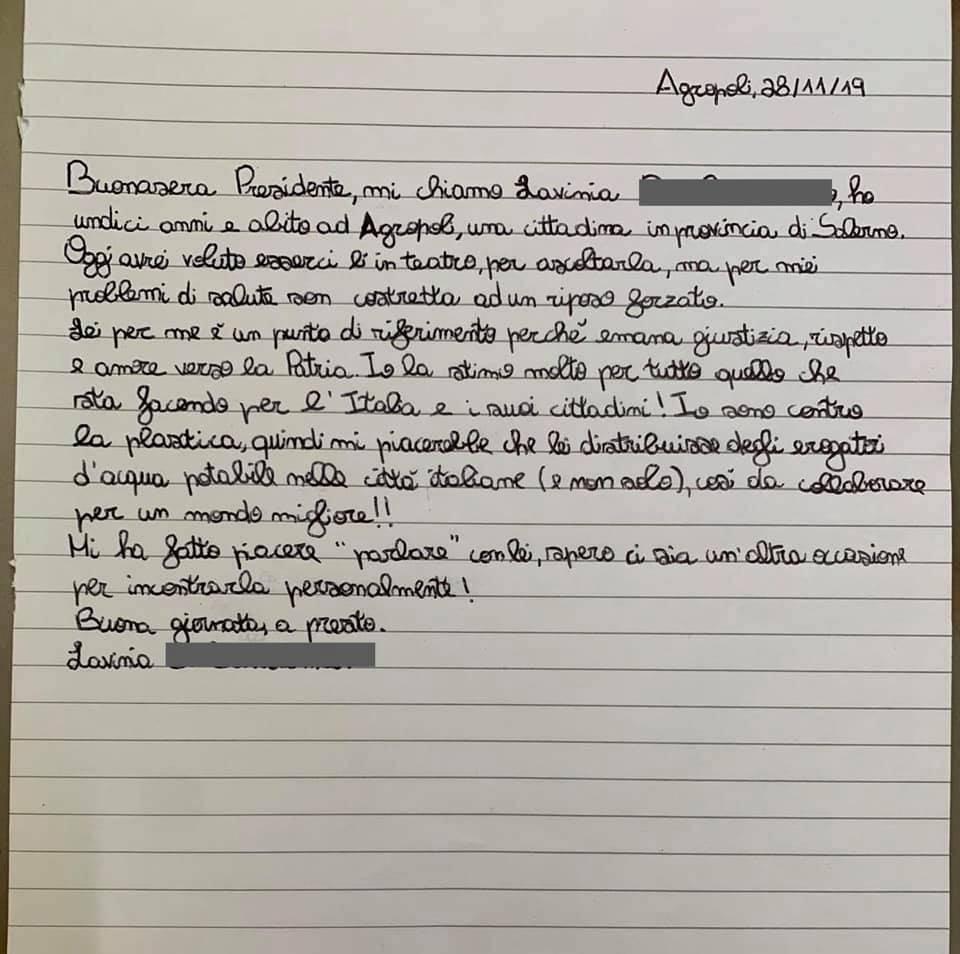lettera a Conte