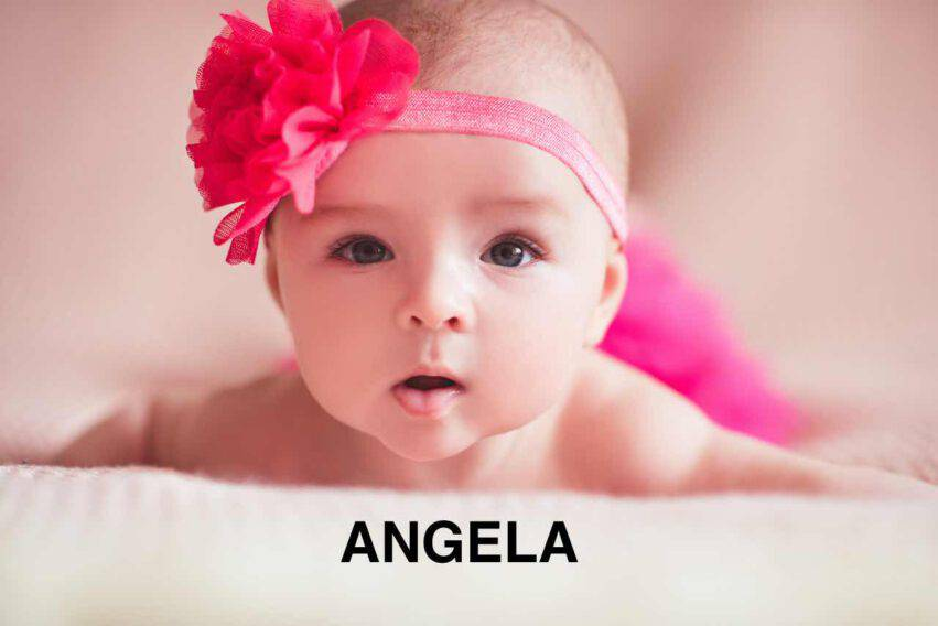 bambina nome angela