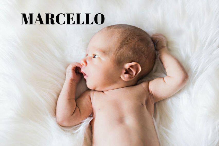 bambino nome marcello