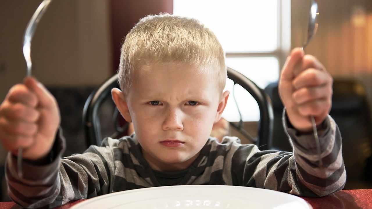 Bambini maleducati ristorante