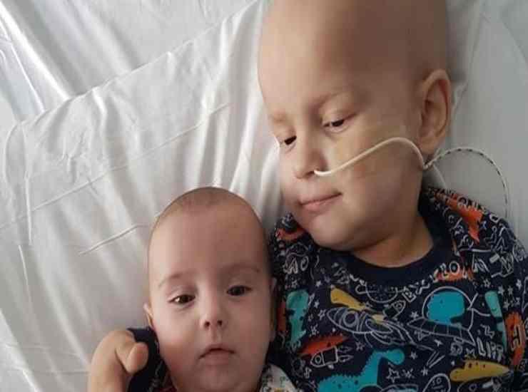 Bambino di 3 anni con tumore 11