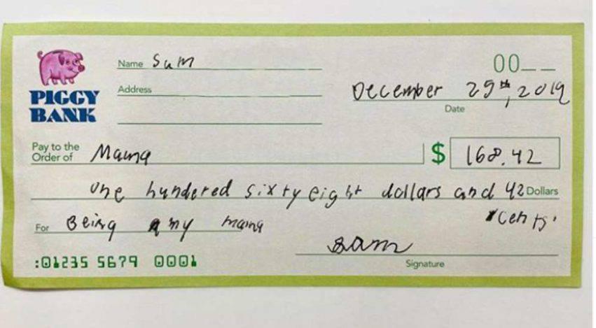 Jennifer Garner assegno 1