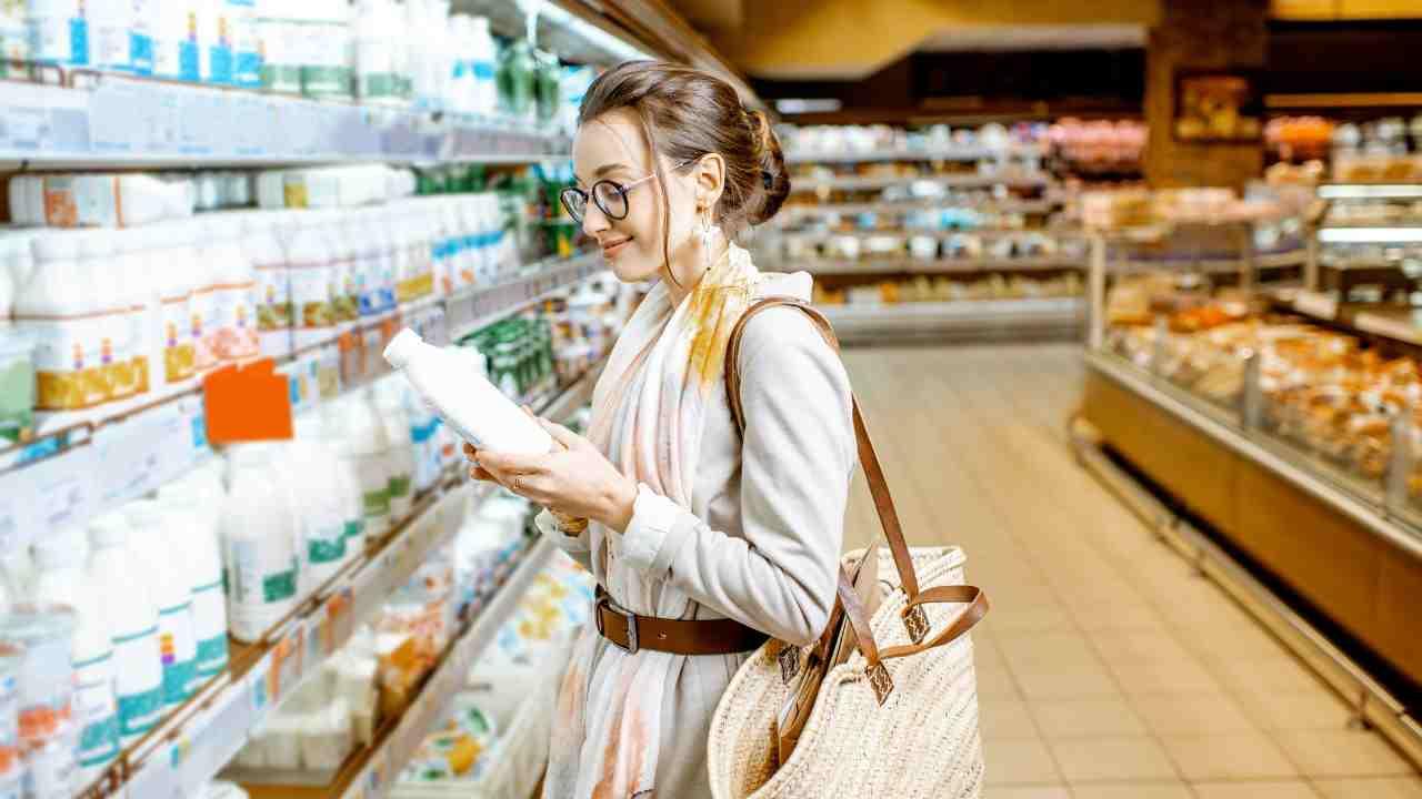 Latte italiano contaminato