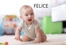 Neonato nome felice
