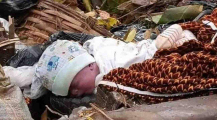 neonata abbandonata in una scatola