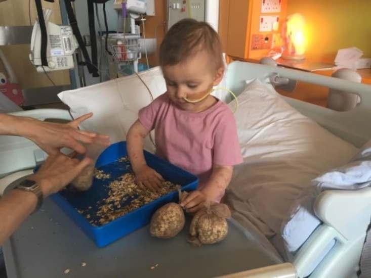 bimba di 3 anni con cancro 11