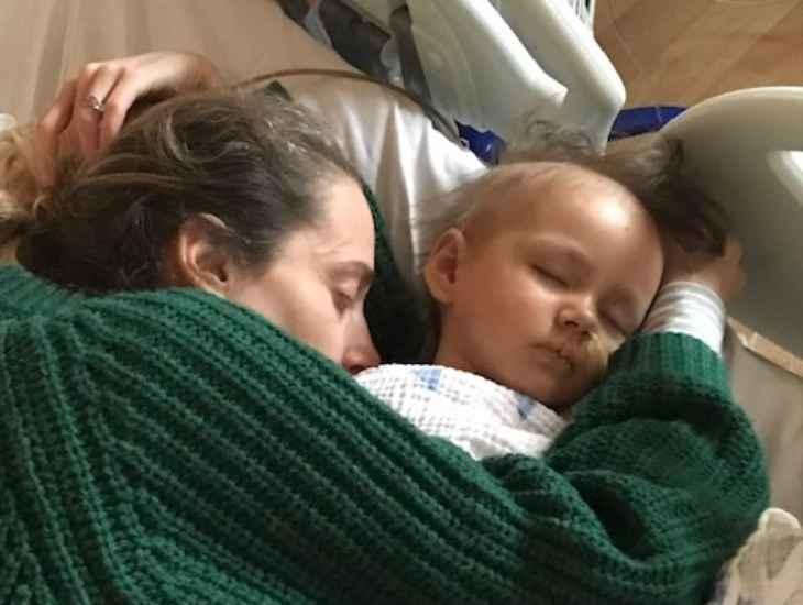 bimba di 3 anni con cancro 1