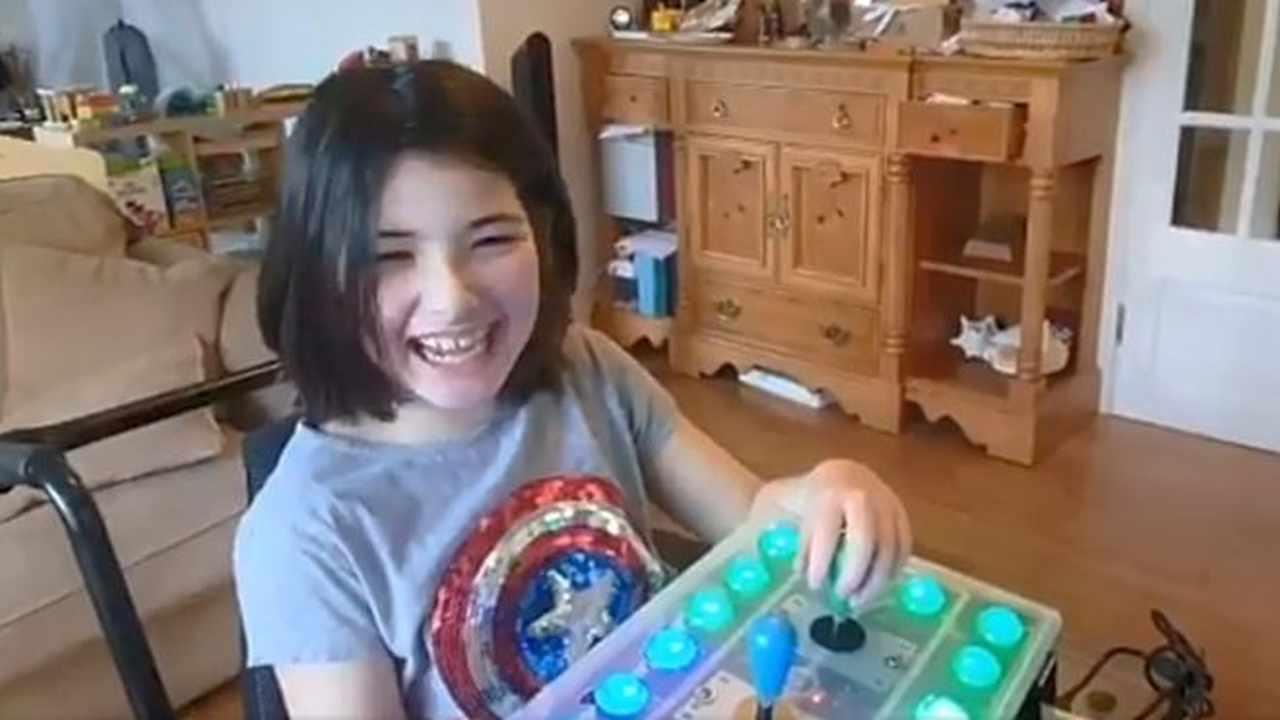 Papà felice figlia disabile