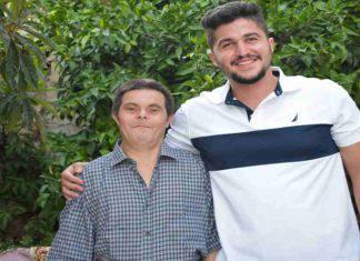 papà con la Sindrome di Down
