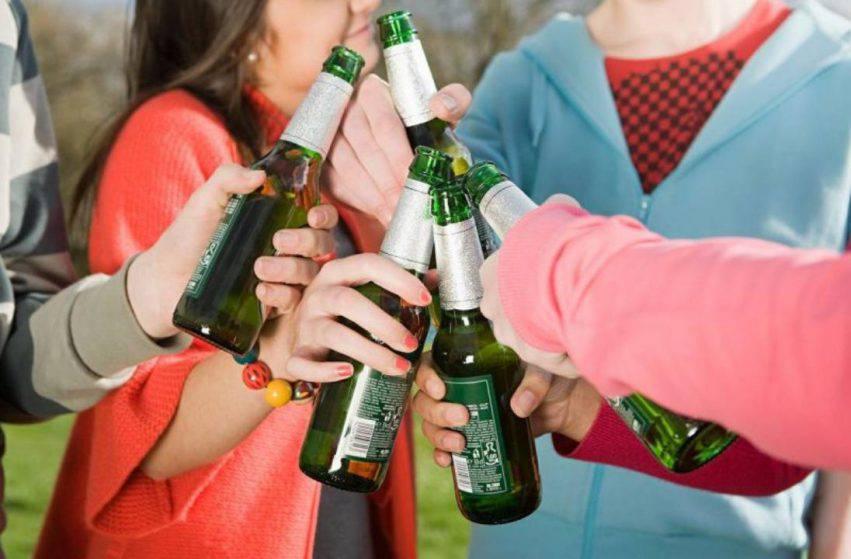 i ragazzi non metabolizzano l'alcol