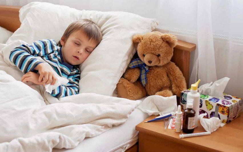 influenza bronchiolite