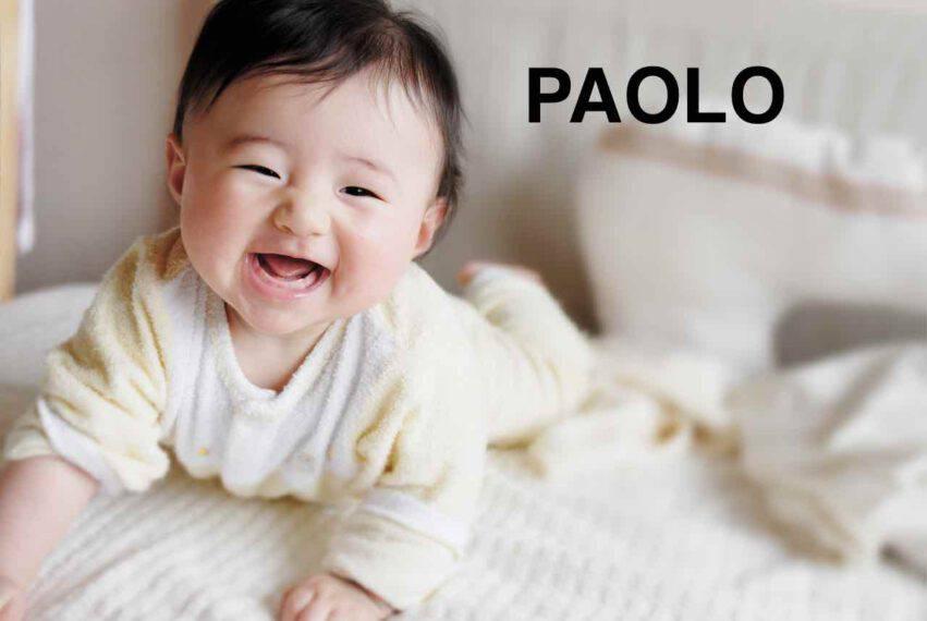 bambino nome paolo