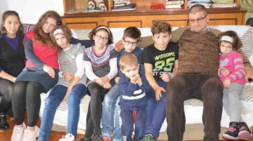 mamma con 8 figli