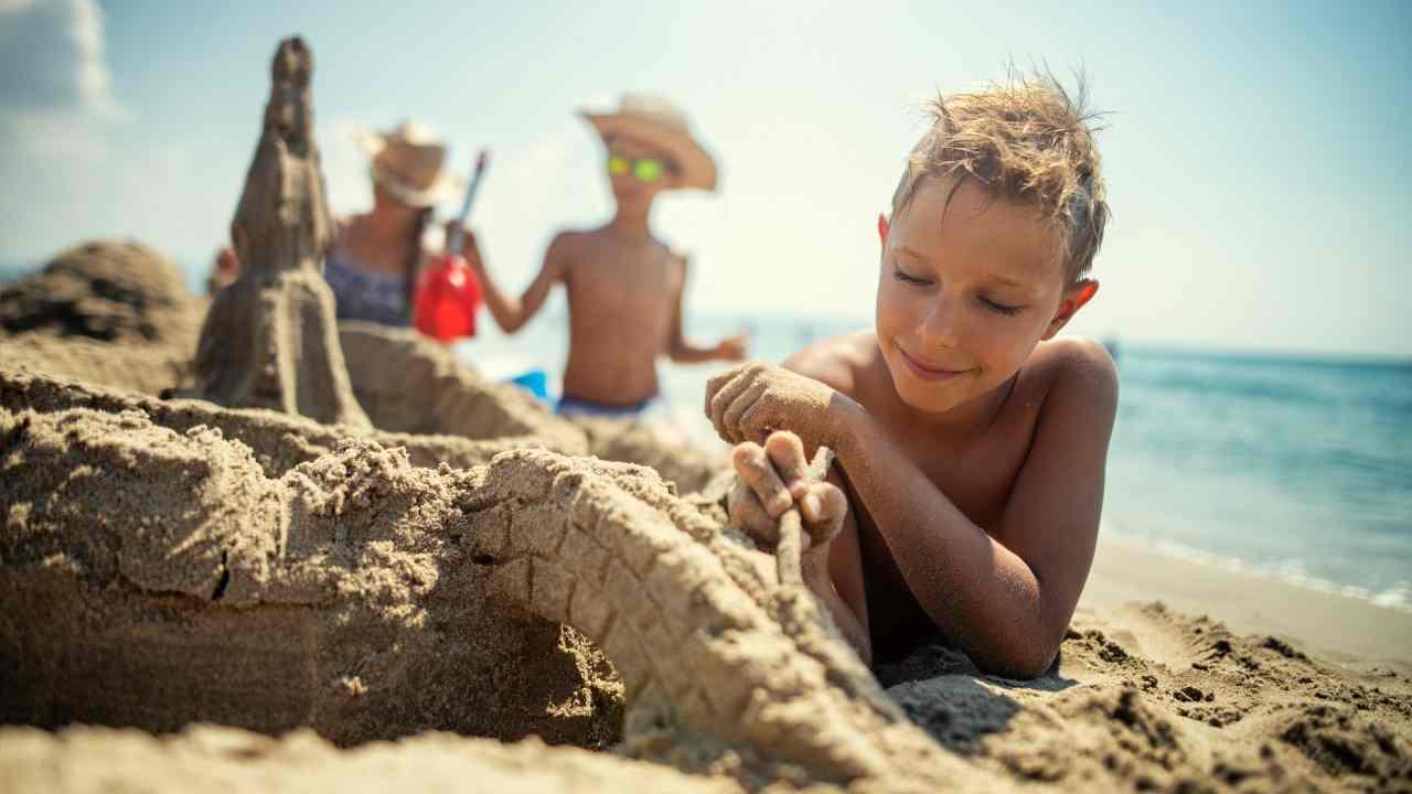 Migliori spiagge bambini