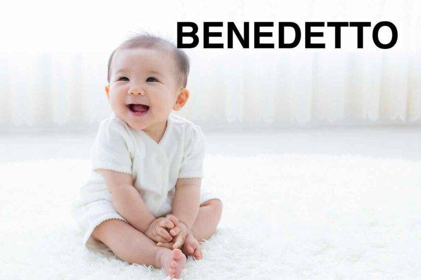 bambino nome benedetto