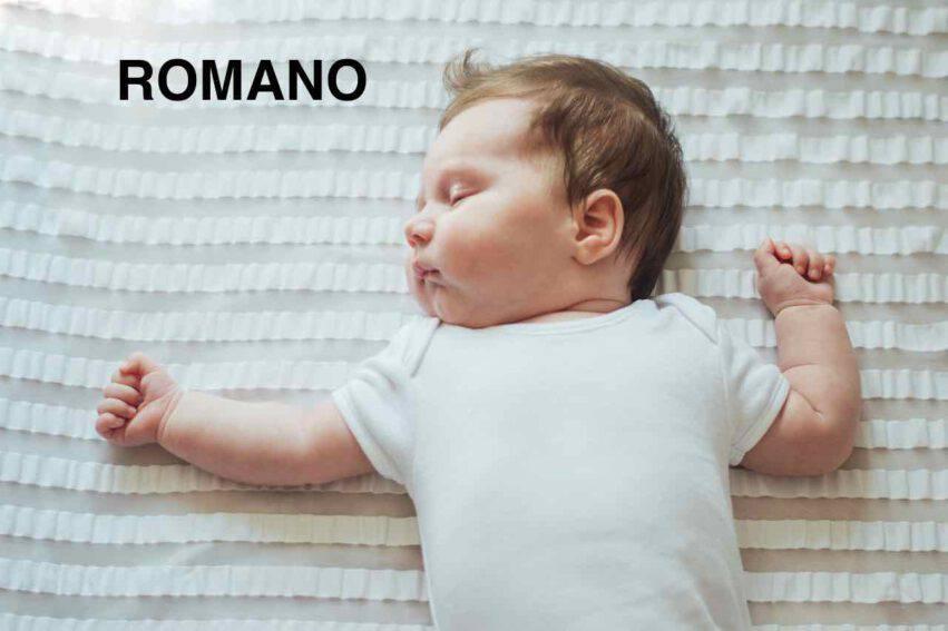 bambino nome romano