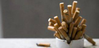 sigarette spente sostanze chimiche