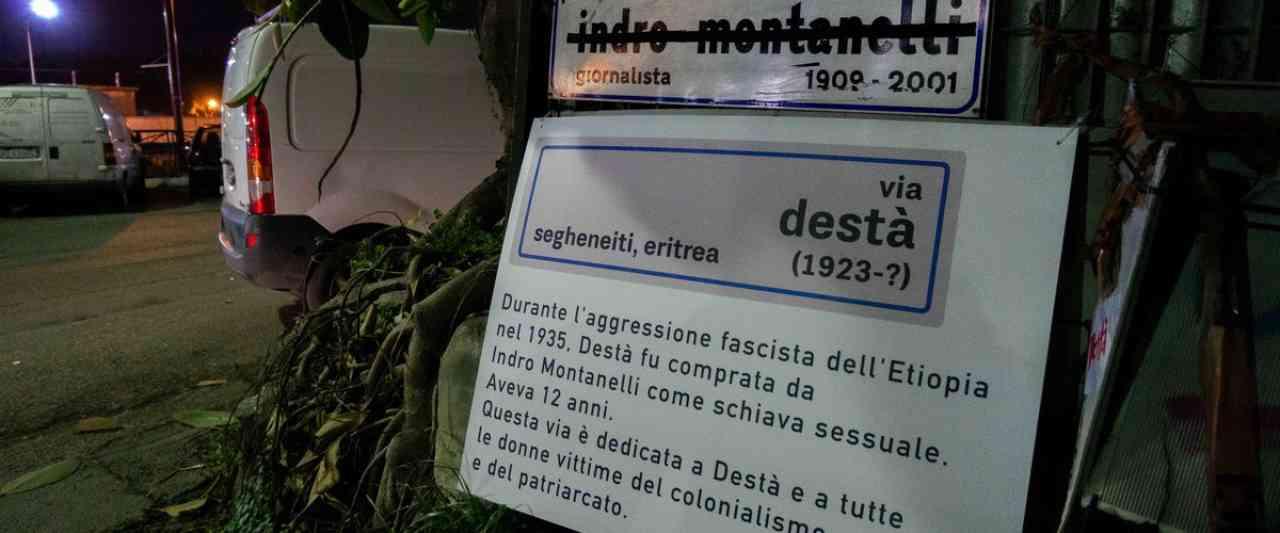 8 marzo è guerra ai nomi delle vie in ricordo delle donne  FOTO