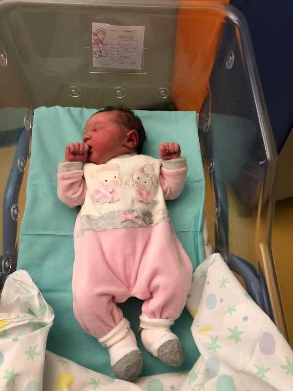 bambina nata comune piccolo