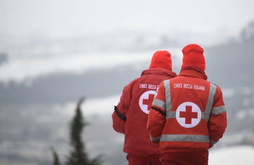 croce rossa italiana volontari