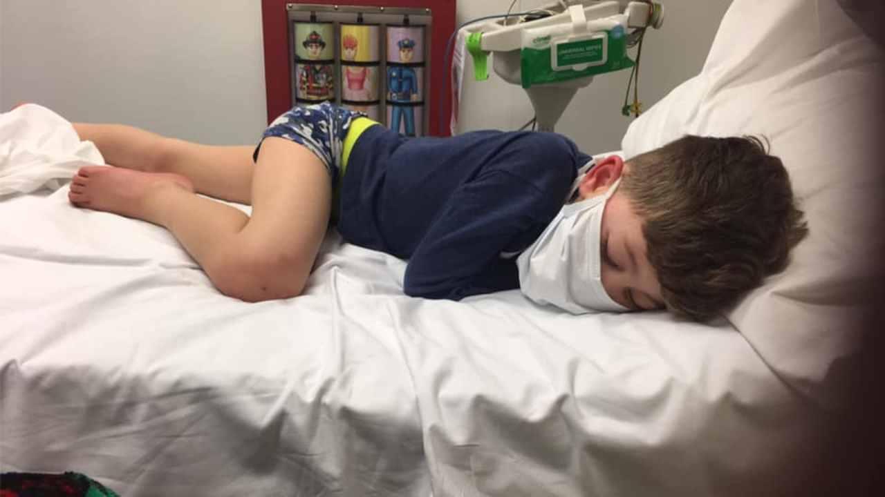 """""""Non è uno scherzo"""": l'appello della mamma di un bambino di 5 anni malato di Covid 19   FOTO"""