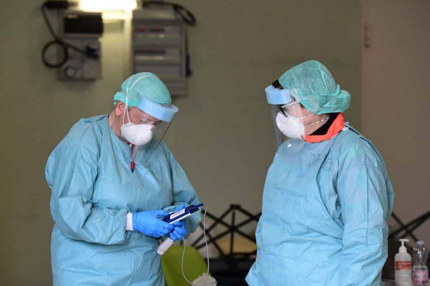operatori sanitari contagiati