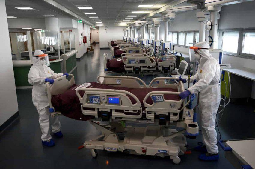 coronavirus italia diminuiscono decessi