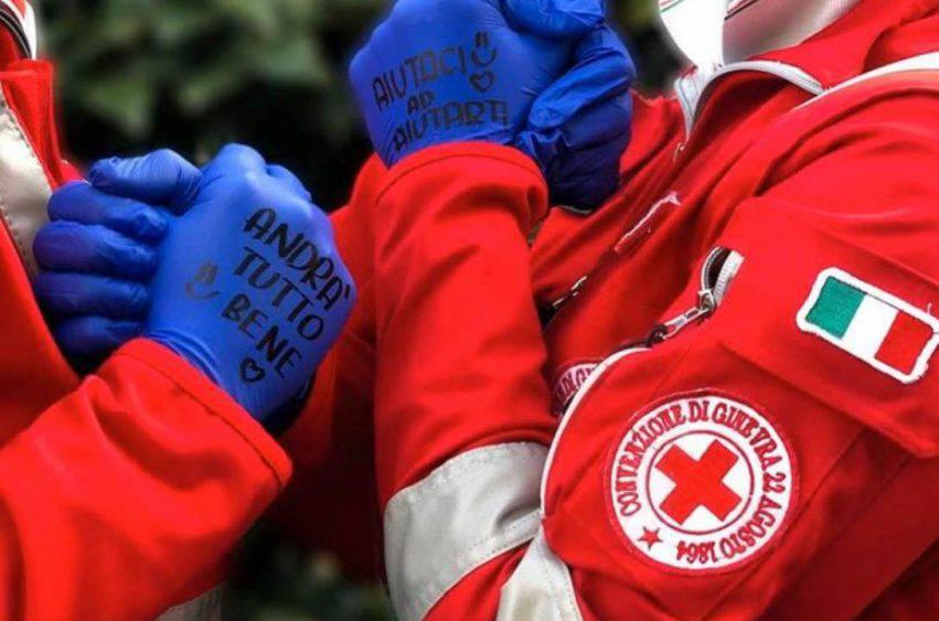 croce rossa volontari