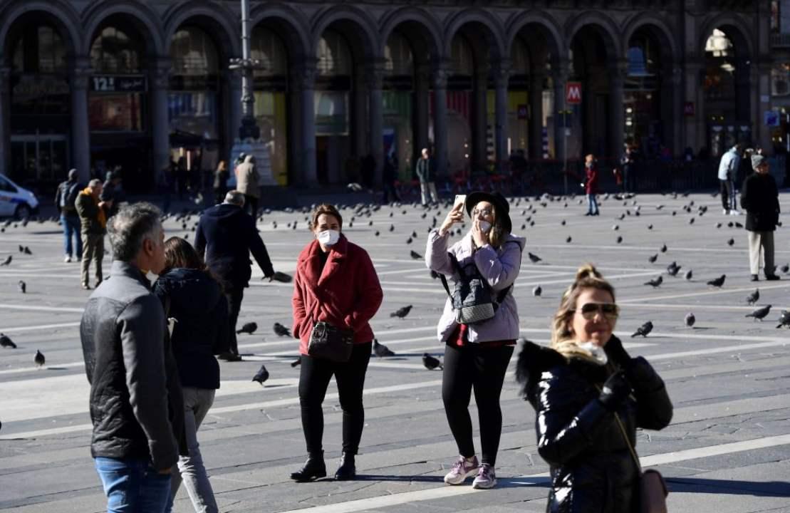 """Coronavirus in Italia   """"Le persone non indossano mascherine"""": l'accusa della Croce Rossa cinese   VIDEO"""