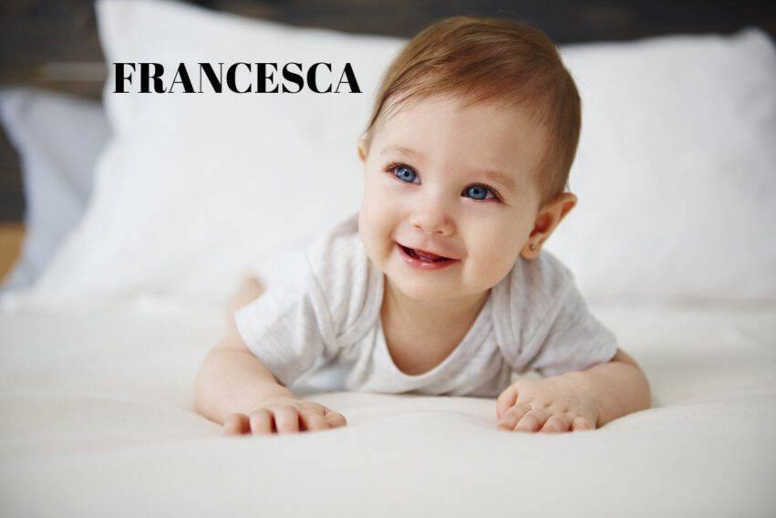 NOME FRANCESCA BAMBINA