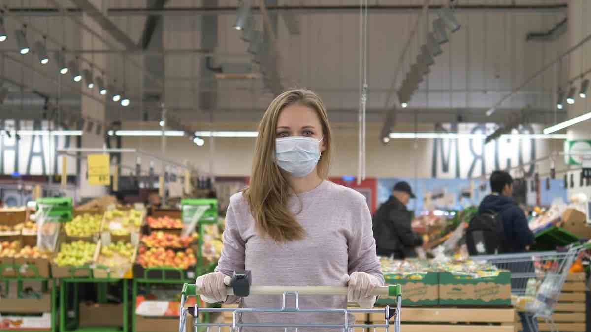 spesa disinfettata coronavirus