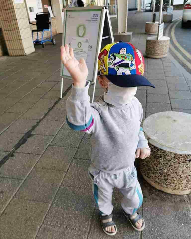 bambino 4 anni tumore covid-19