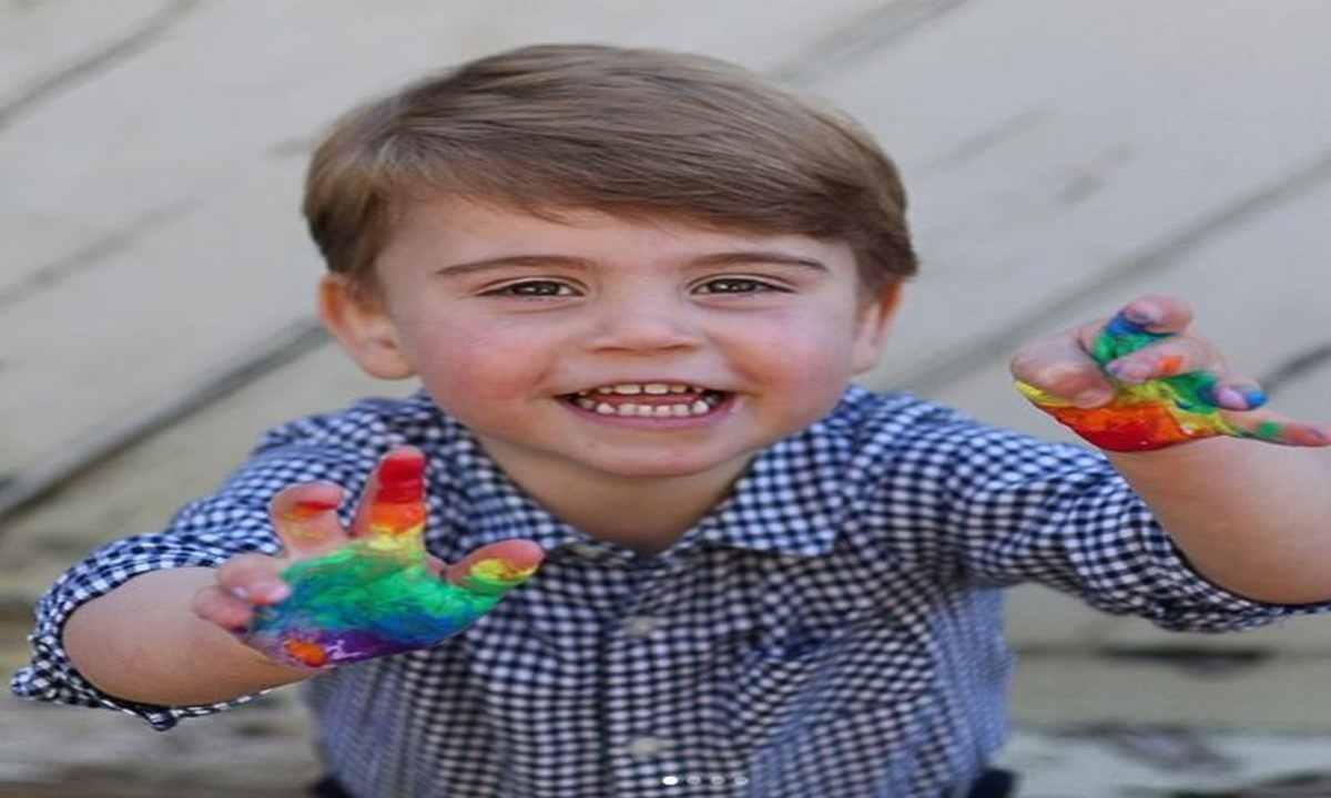 Principe Louis 2 anni