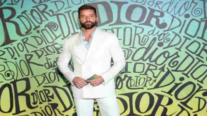 Ricky Martin immagini figlio