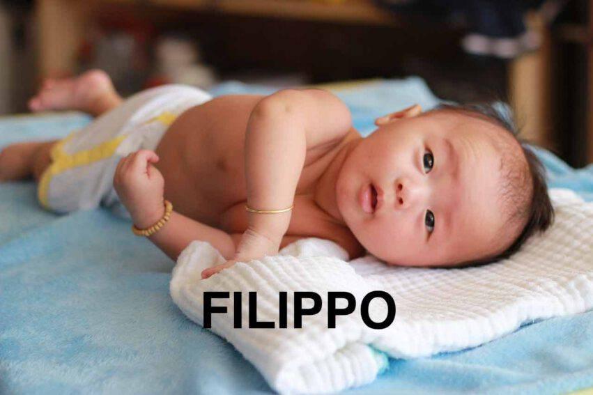 BAMBINO NOME FILIPPO