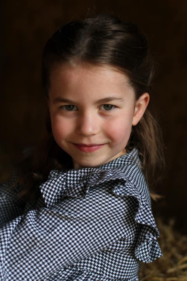Charlotte 5 anni