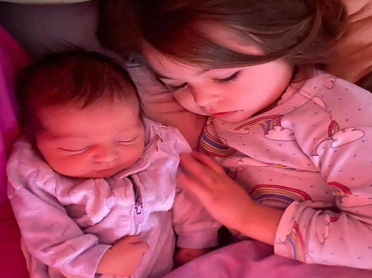 ClioMakeUp nascita figlia