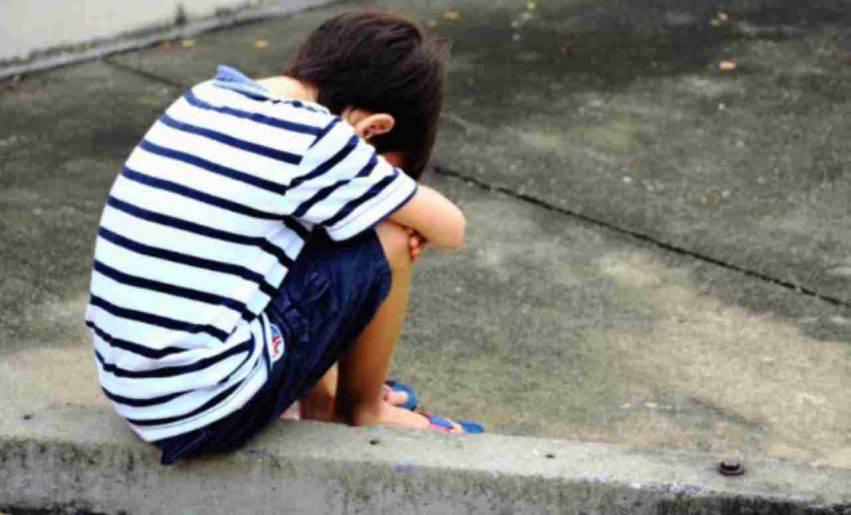 abbandono bambini