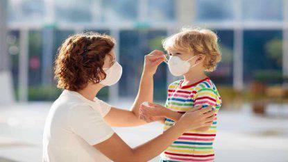 Richiamo mascherine per bambini
