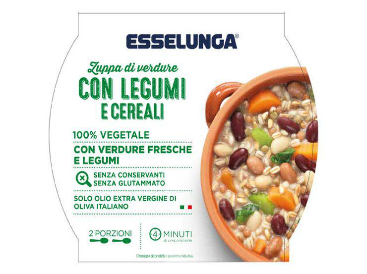 Richiamo zuppa di verdure