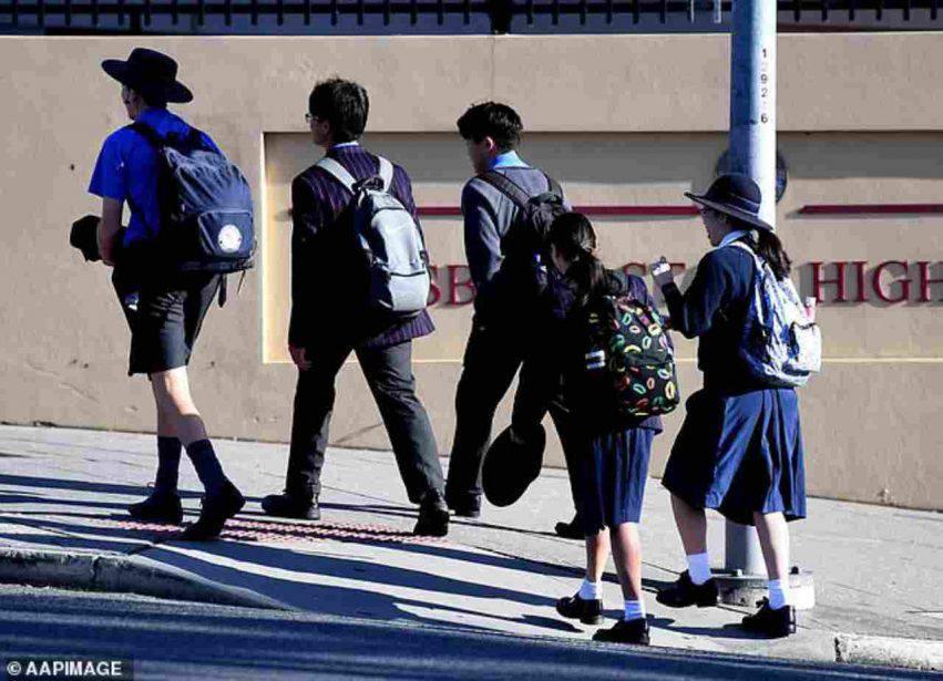 studenti a scuola in Australia