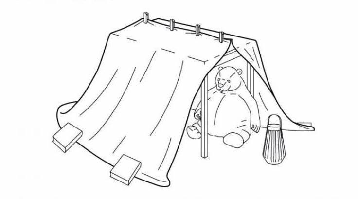 Come costruire capanne e fortini: i bellissimi progetti di Ikea | FOTO