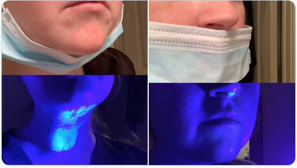 Cosa accade quando usiamo male la mascherina? L'esperimento che lo mostra | FOTO