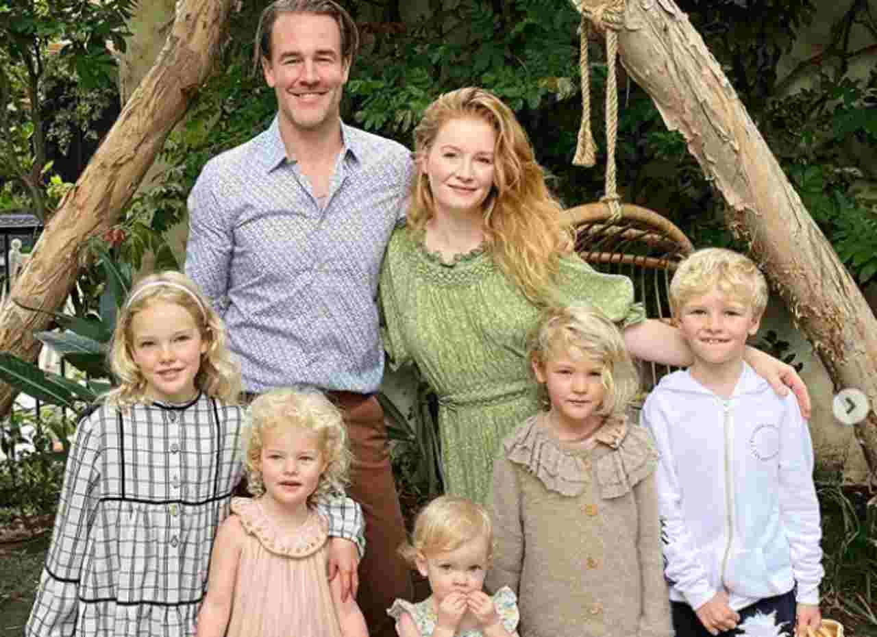 Aborto per James Van Der Beek, l'amato Dawson, e la moglie l'annuncio straziante   FOTO