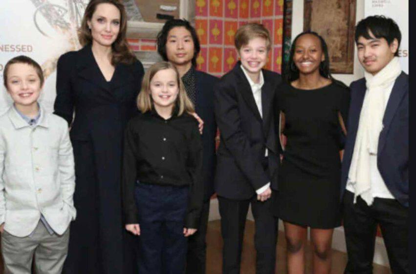 Angelina Jolie quarantena