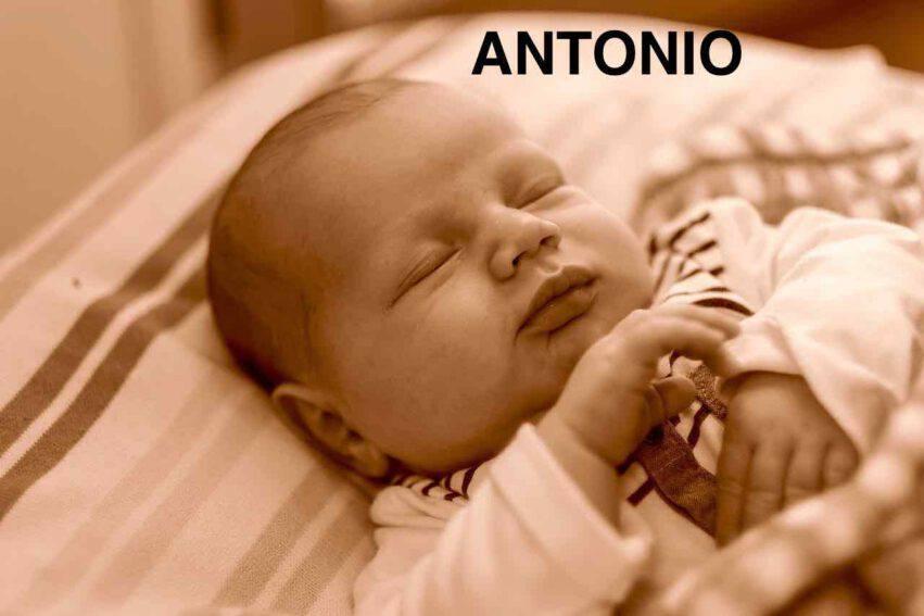 BAMBINO NOME ANTONIO