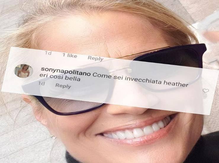 Heather Parisi risponde
