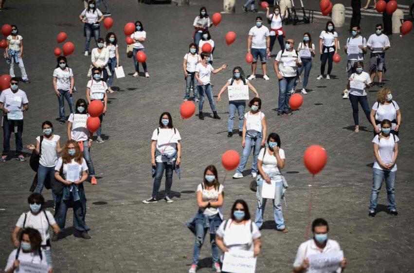 coronavirus italia contagi calo lombardia